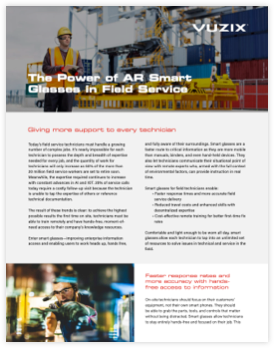 Field Service Benefits