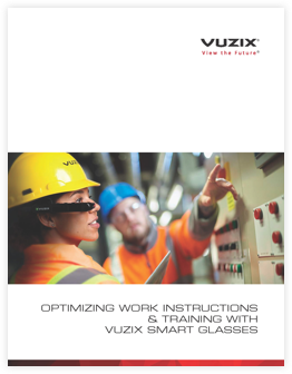 Vuzix Worker Training White Paper